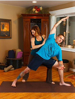 EnaRodriguez and JordanBlake. Therapeutic Yoga - iRest Yoga Nidra in Issuu Magazine